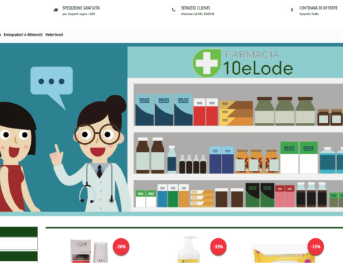 e-Commerce Farmacia10elode